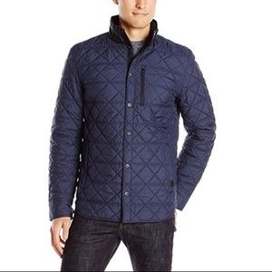 Victorinox Navy Blue Quilted Jacket sz Large